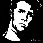 "Original Art , Figure in paper ""CALVIN"" - Shaun Tomson by Marcy Ann Villafaña"