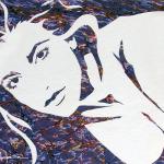 """Original Art , Female Figure in Paper """"HOLLIE III"""" by Marcy Ann Villafaña"""