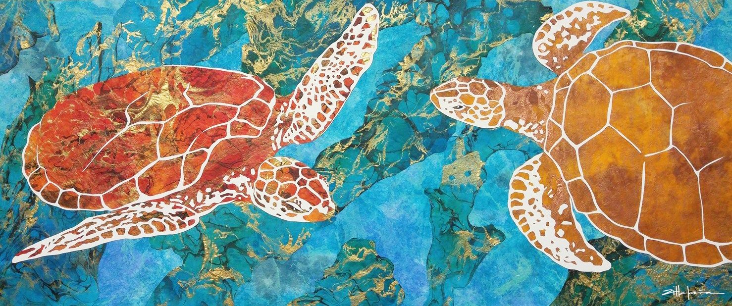 """DANCING THE TURTLES OF THE DEEP"""